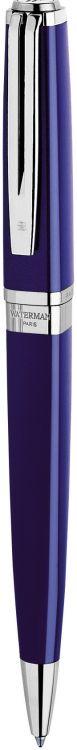 Шариковая ручка Waterman Exception, цвет: Slim Blue ST, стержень: Mblue