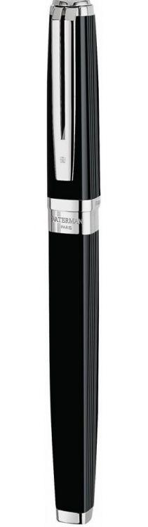 Перьевая ручка Waterman Exception, цвет: Night&Day Black ST, перо: F