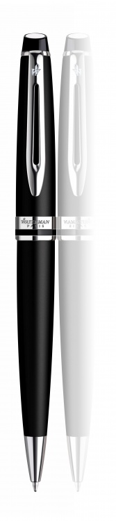 Шариковая ручка Waterman Expert 3, цвет: MattBlack CT, стержень: Mblue
