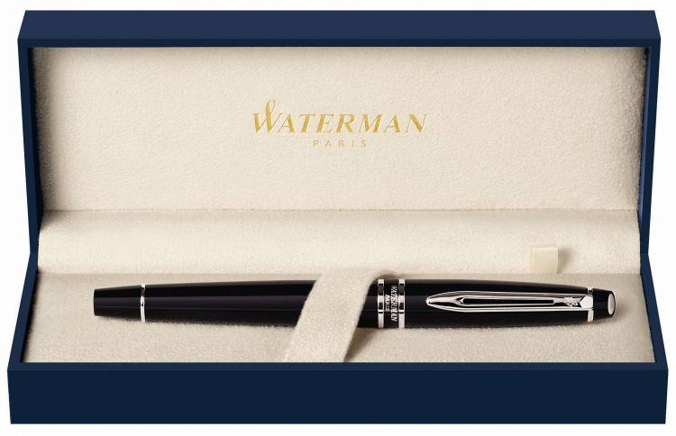 Перьевая ручка Waterman Expert 3, цвет: Black CT, перо: F