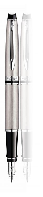 Перьевая ручка Waterman Expert 3, цвет: Stainless Steel CT, перо: F