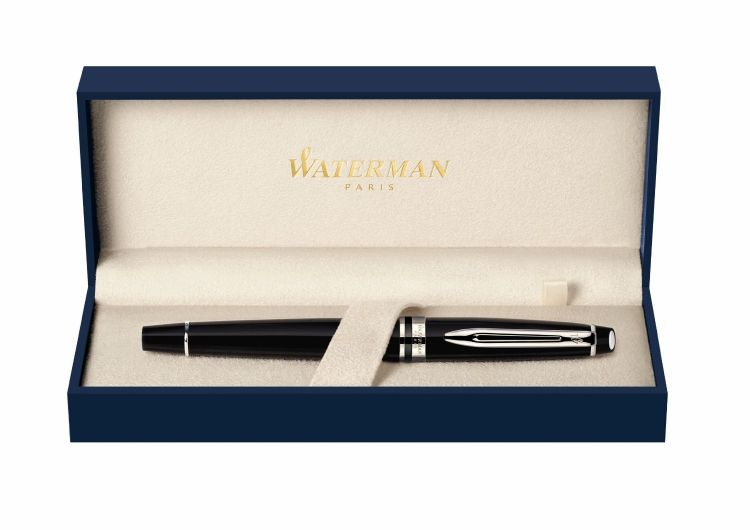 Ручка-роллер Waterman Expert, цвет: MattBlack, стержень: Fblk