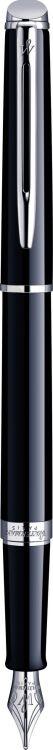 Перьевая ручка Waterman Hemisphere, цвет: Mars Black/CT, перо: F