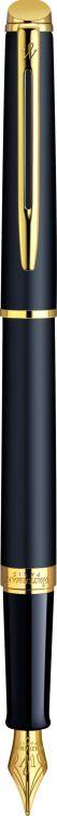 Перьевая ручка Waterman Hemisphere, цвет: MattBlack, перо: F