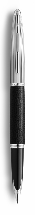 Перьевая ручка Waterman Carene Special Edition Black Leather  цвет: Black/Silver, палладиевое перо: F