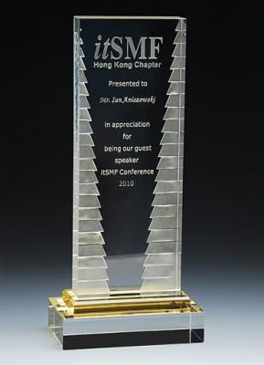 BA1AW-CLR12 Bright Awards Призы из стекла. Приз из стекла