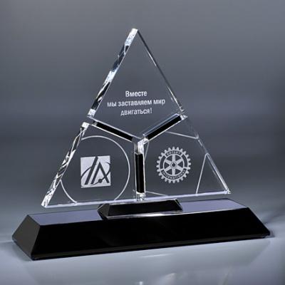 BA1AW-CLR82 Bright Awards Призы из стекла. Приз из стекла