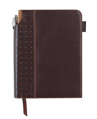 AC236-2M Записная книжка Cross Journal Signature A5, 250 страниц в линейку, ручка 3/4 в комплекте. Цвет - кор