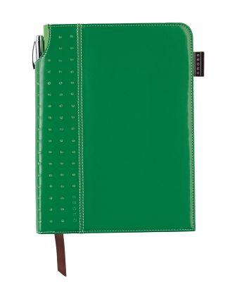 AC236-4M Записная книжка Cross Journal Signature A5, 250 страниц в линейку, ручка 3/4 в комплекте. Цвет - зел