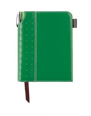 AC236-4S Записная книжка Cross Journal Signature A6, 250 страниц в линейку, ручка 3/4 в комплекте. Цвет -  зе