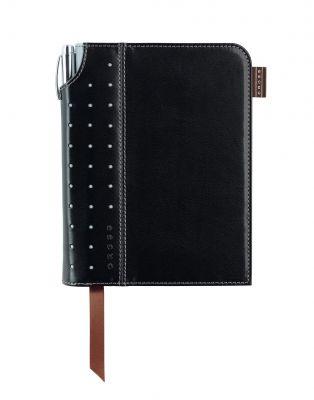 AC236-1S Записная книжка Cross Journal Signature A6, 250 страниц в линейку, ручка 3/4 в комплекте. Цвет -  че