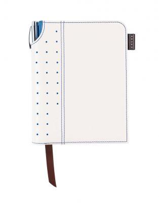 AC236-6S Записная книжка Cross Journal Signature A6, 250 страниц в линейку, ручка 3/4 в комплекте. Цвет - бел