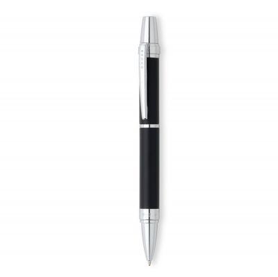 AT0382G-7 Шариковая ручка Cross Nile. Цвет - черный матовый.