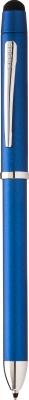 AT0090-8,AT0090S-8 Многофункциональная ручка Cross Tech3+. Цвет - синий.