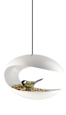 DF20161210 Eva Solo. Кормушка-стол для птиц подвесная белая
