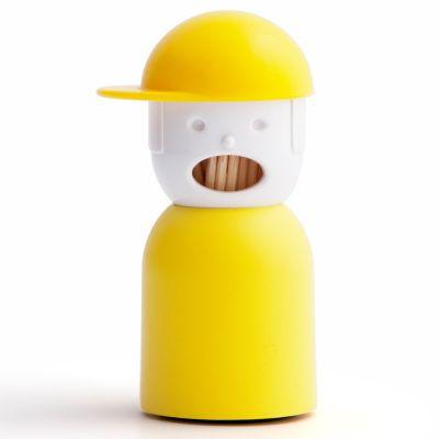 DF20161899 Qualy. Держатель для зубочисток picky boy желтый