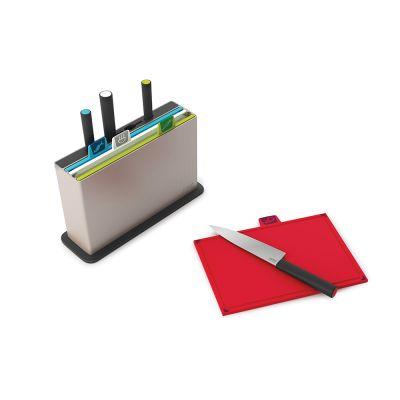 DF20161363 Joseph Joseph. Набор разделочных досок с ножами index™' with knives серебристый