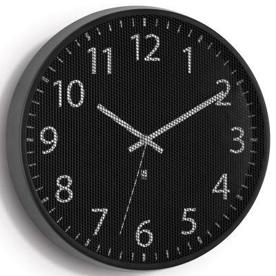 DF201611199 Umbra. Часы настенные perftime черные