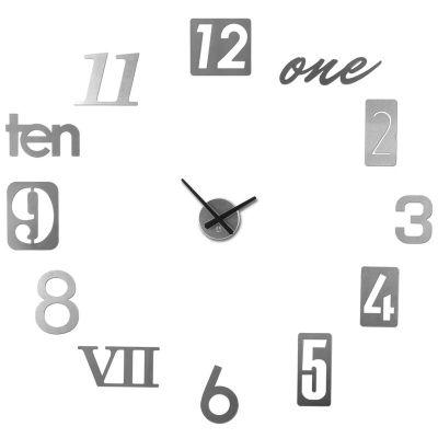 DF20161882 Umbra. Часы настенные numbra алюминиевые