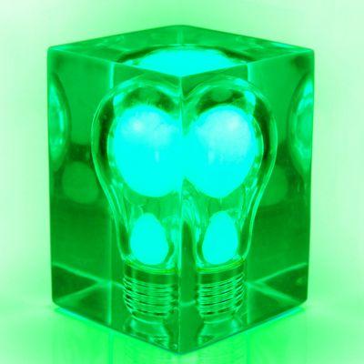 DF20161245 Suck UK. Фосфорная лампа glow brick зеленая