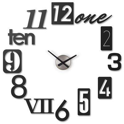 DF20161791 Umbra. Часы настенные numbra черные