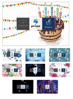 GIFTCARD12000 Parker Подарочные карты. Подарочная карта гибкого номинала