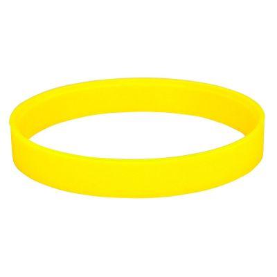 """HG170151872 Браслет силиконовый """"Фантазия-2"""";  D6,5см;  желтый"""