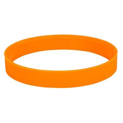 """HG170151873 Браслет силиконовый """"Фантазия-2"""";  D6см, оранжевый"""