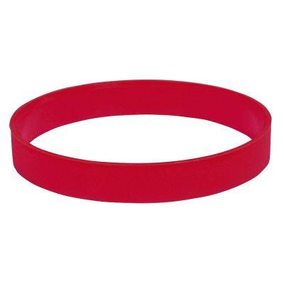 """HG170151874 Браслет силиконовый """"Фантазия-2"""";  D6,5 см, красный"""