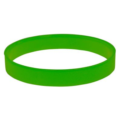 """HG170151875 Браслет силиконовый  """"Фантазия-2""""; D6 см;  зеленый"""