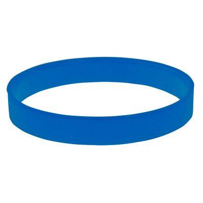 """HG170151876 Браслет силиконовый """"Фантазия-2"""";  D 6 см;  синий"""