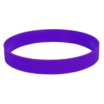"""HG170151877 Браслет силиконовый """"Фантазия-2"""";  D6,5см;  фиолетовый"""