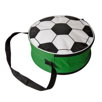 HG184061309 Сумка футбольная; зеленый, D36 cm; 600D полиэстер