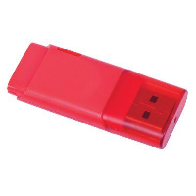 "HG18406118 USB flash-карта ""Osiel"" (8Гб),красный, 5,1х2,2х0,8см,пластик"