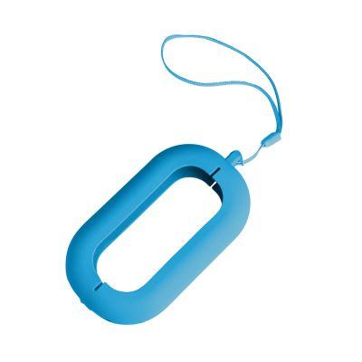 """HG170151465 Обложка с ланъярдом к зарядному устройству """"Seashell-2"""", голубой,силикон"""