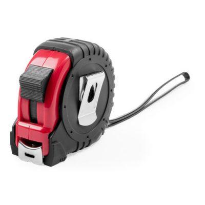 HG170151327 Рулетка пластиковая, 5 м.,красная, 7*7*3,5 см, с металлическим клипом