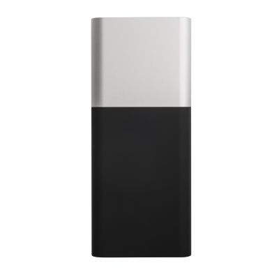 "HG18406152 Универсальное зарядное устройство ""Black gun""(8000mAh),черный с серебристым,6,2х14,5х1,7см,пластик,м"