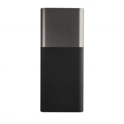 """HG18406153 Универсальное зарядное устройство """"Black gun"""" (8000mAh),черный с серым,6,2х14,5х1,7см,пластик,металл"""