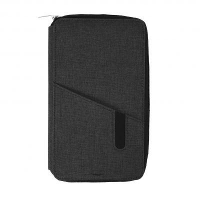 "HG184061166 Футляр дорожный с зарядным устройством (4000mAh)""Portable"",темно-серый,12х21х3см, полиэстер"