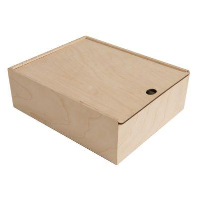 HG184061316 Упаковка подарочная из фанеры, размер 20х8х20см