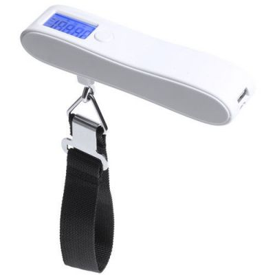"HG170151343 Универсальное зарядное устройство ""Hargol"" (2200mAh) с багажными весами, 14,3х22,5х3,3 см,пластик"