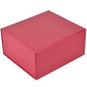 HG15091124 Коробка подарочная складная,  красный, 22 x 20 x 11 cm,  кашированный картон,  тиснение, шелкография