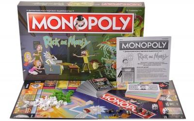 HW20041586 Hobby World. Монополия. Рик и Морти