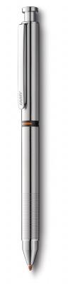 4001271 Ручка мультисистемная (черный+кар 0,5+маркер M55) 745 st, Полированная сталь