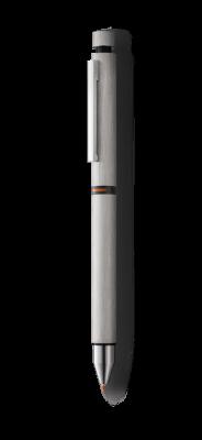 LM210511249 Lamy Cp1. Ручка мультисистемная Lamy (черный+кар 0,5+красный) 759 cp1, Матовая сталь, M21