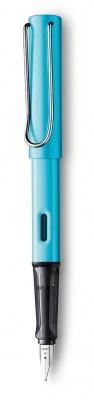 4031204 Ручка перьевая 084 al-star, Голубой, F