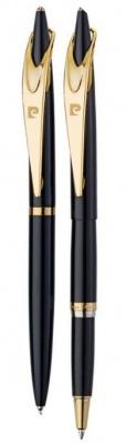 PC0839BP/RP Набор Pierre Cardin PEN&PEN: ручка шариковая + роллер. Цвет - черный.