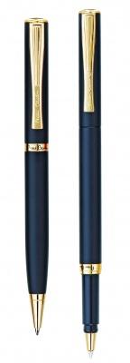 PC0867BP/RP Набор: ручка шариковая + роллер Pierre Cardin PEN and PEN, корпус - латунь.