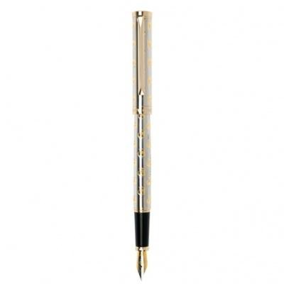 PC1023FP Перьевая ручка Pierre Cardin, EVOLUTION, корпус и колпачок - латунь с гравировкой