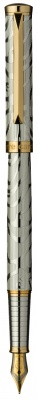 PC1026FP-G Перьевая ручка Pierre Cardin EVOLUTION,корпус и колпачок - латунь с гравировкой, покрытие металл